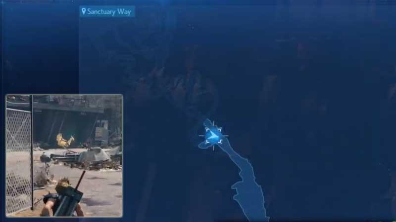 FF7 Remake Chocobo Location 1