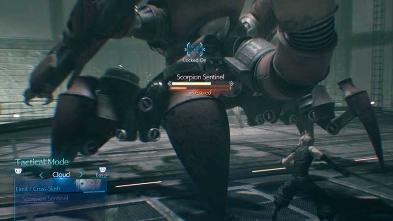 Final Fantasy 7 Remake How to refill ATB