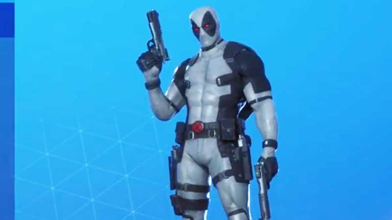 Deadpool Xforce Skin