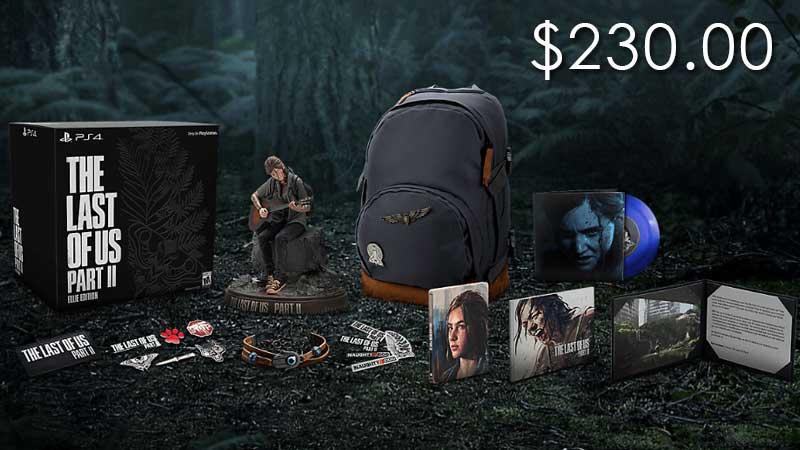 Last of Us Part 2 Ellies Edition