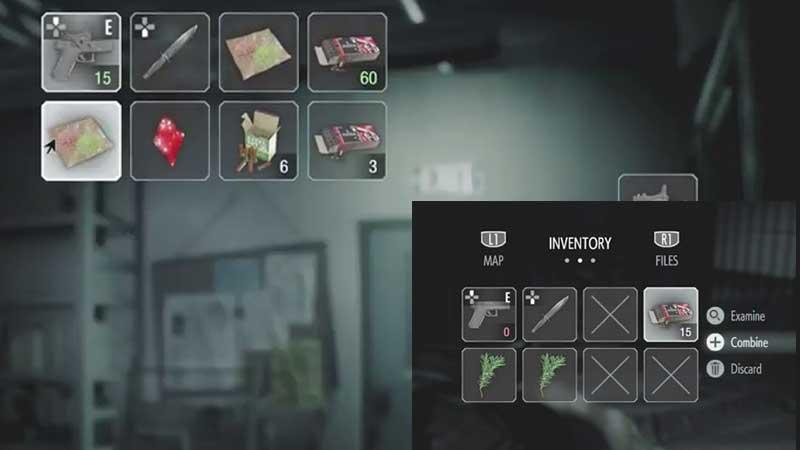 Resident Evil 3 Inventory Management