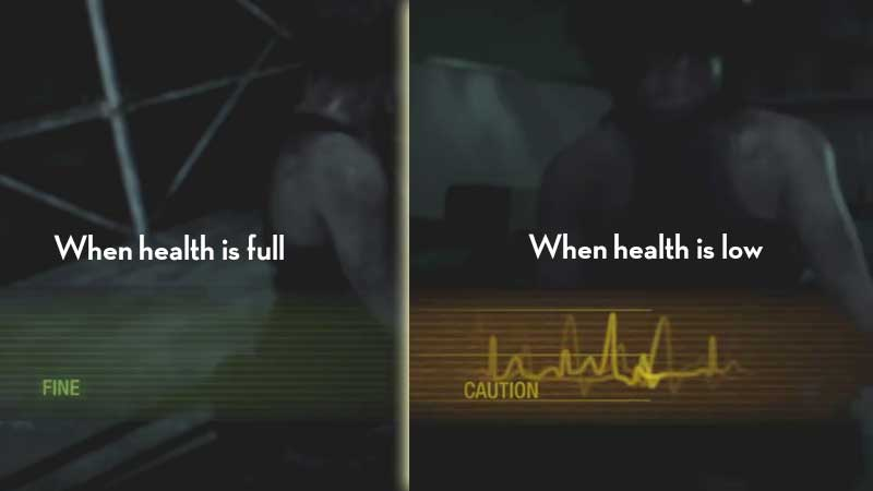 How to check Health in RE3 Remake