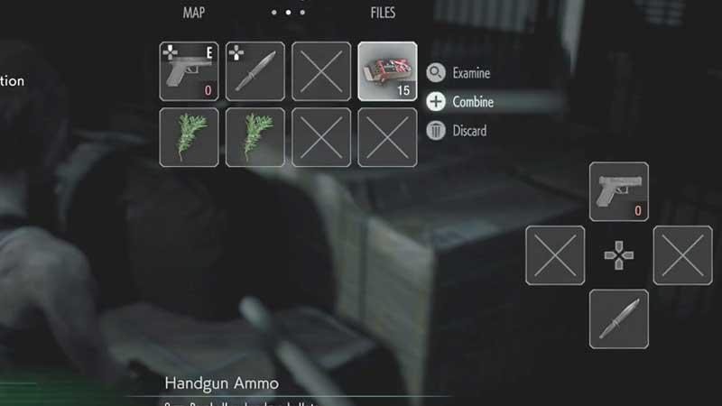 Resident Evil 3 Remake craft Ammo