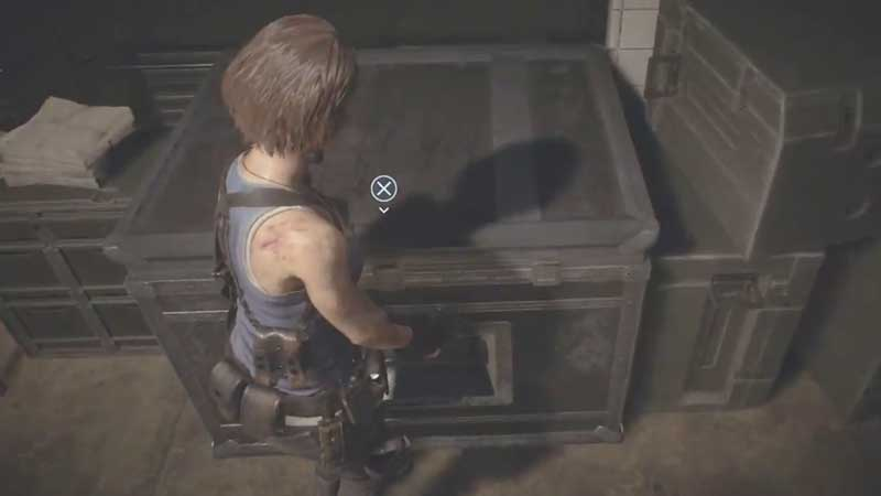 Resident Evil 3 Storage