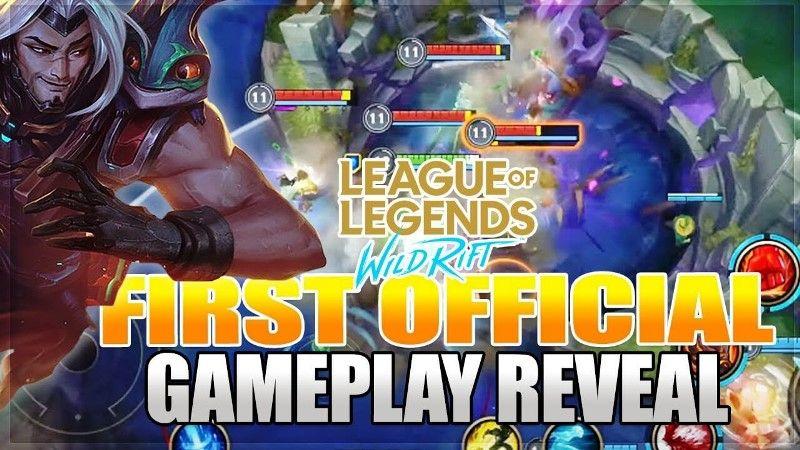 League of Legends: Wild Rift Gameplay Reveal