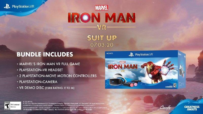 Marvel's Iron Man VR PSVR Bundle and Demo