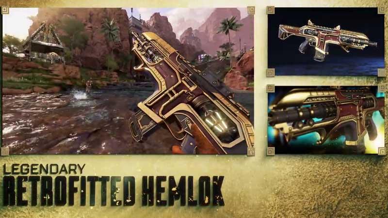 Apex Legends Season 5 Retrofitted Hemlock