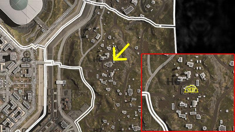 COD Bunker Code - Farmland
