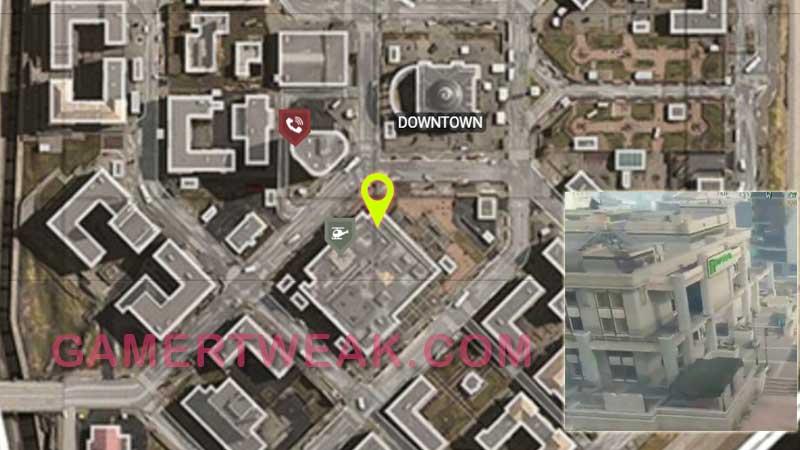 COD Warozne Morse Code 1 Location