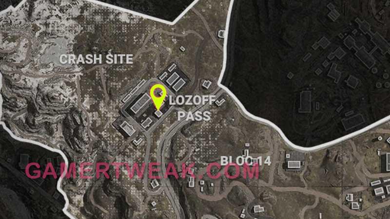 COD Warozne Morse Code 2 Location