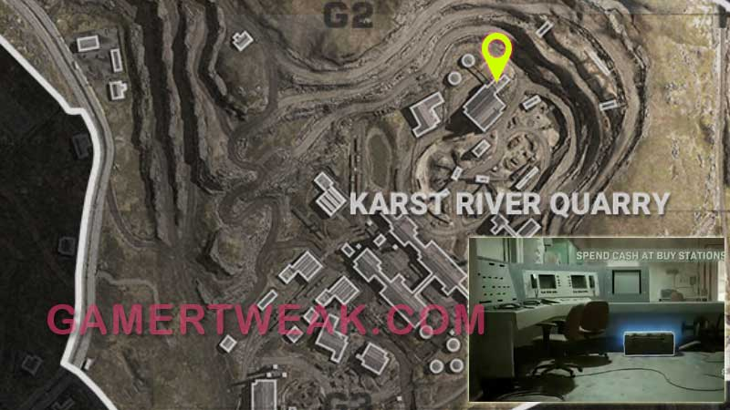 COD Warozne Morse Code 3 Location