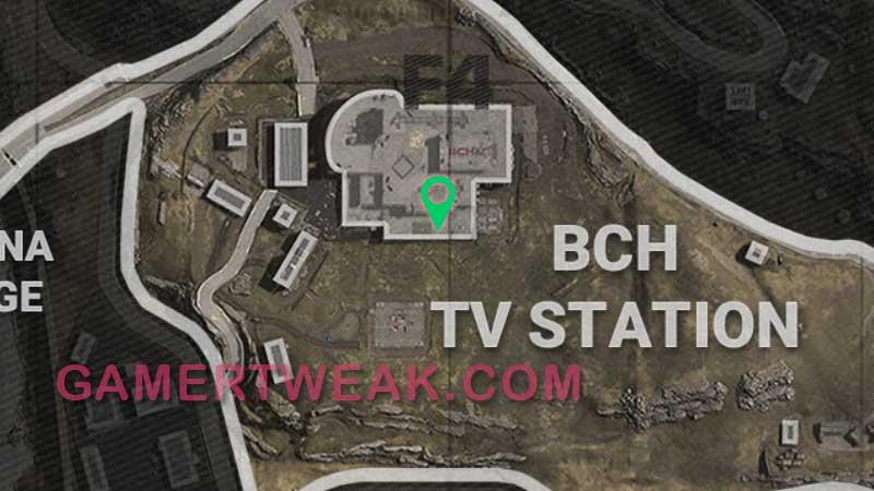 COD Warozne Morse Code 5 Location