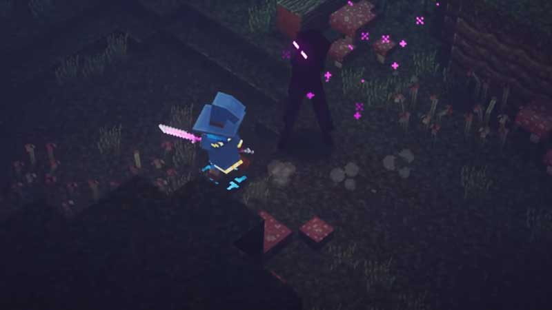 defeat-enderman-minecraft-dungeons