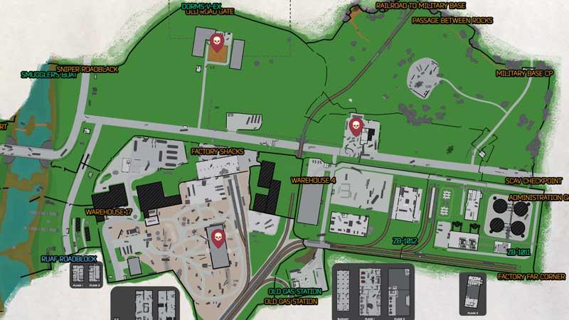 Escape From Tarkov Customs Map 2020