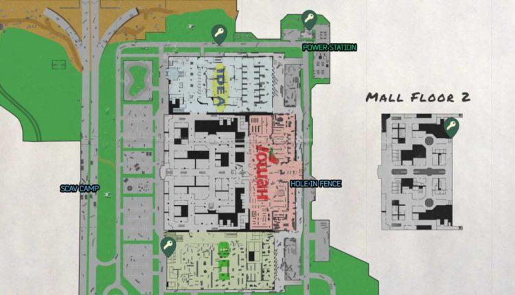 Escape from Tarkov Interchange Map Keys Location