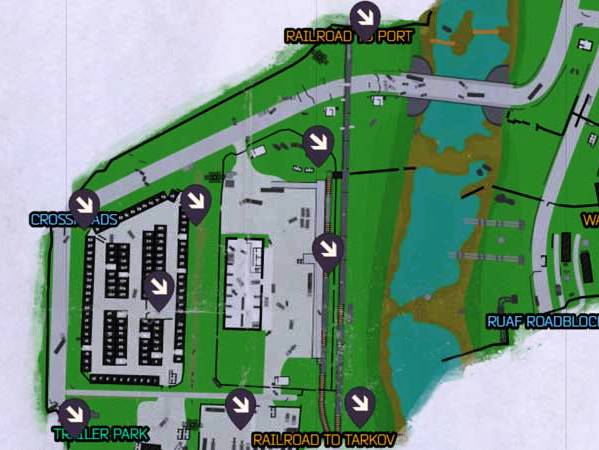 Escape From Tarkov Customs Map Guide Extraction Points Keys Boss Locations
