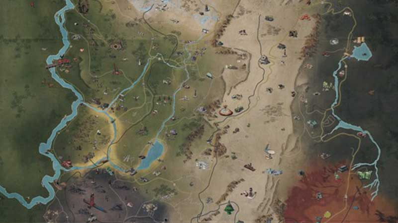 Fallout 76 Full Map