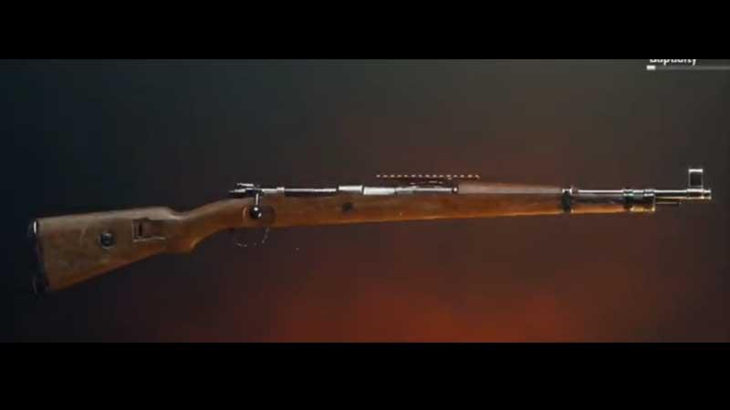PUBG KAR98K Sniper
