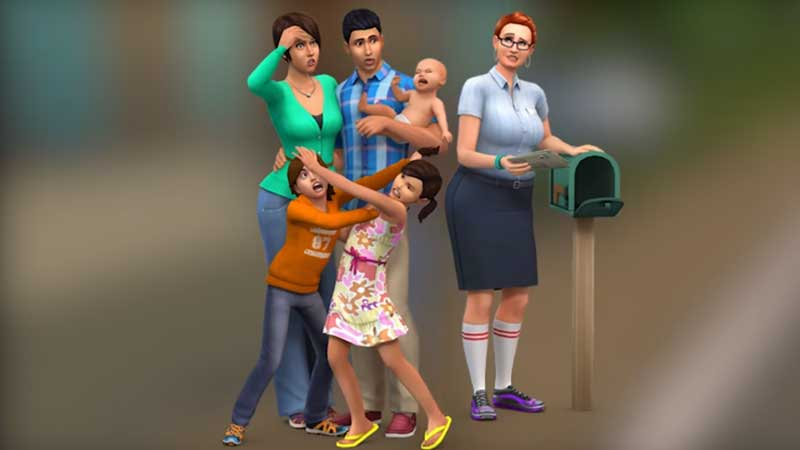 Sims 4 100 Baby Challenge