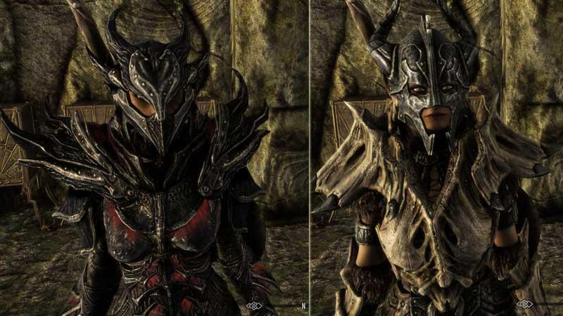Skyrim Armor Weapon Graphics Mod