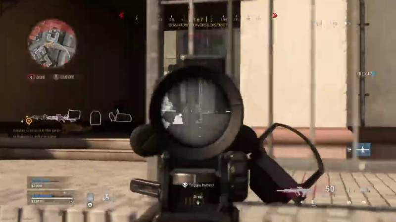 thermal scope call of duty warzone
