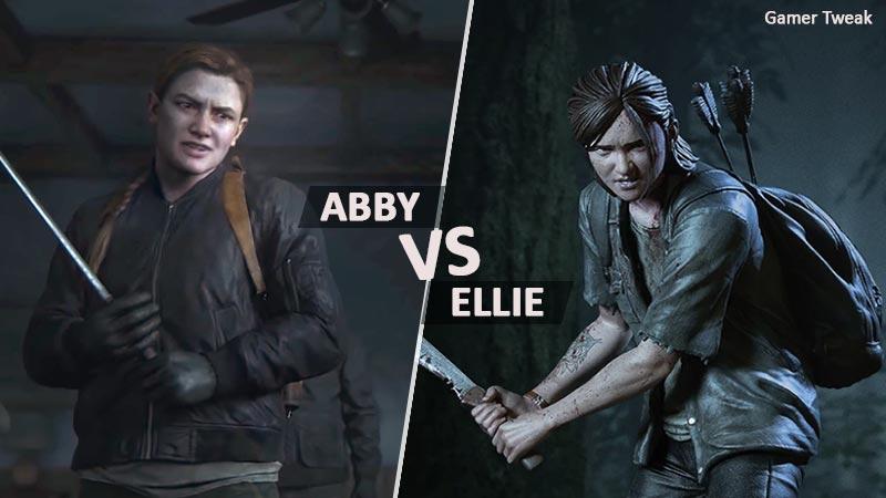 Abbey vs Ellie tlou2