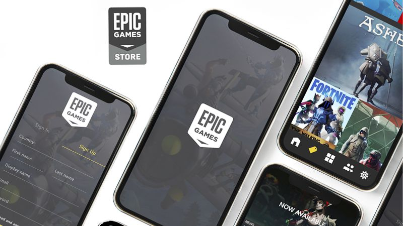 Epic Games Store Launch Mobile Devices