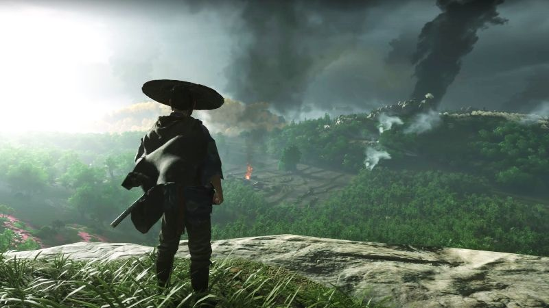 Ghost of Tsushima Exposed Buttocks