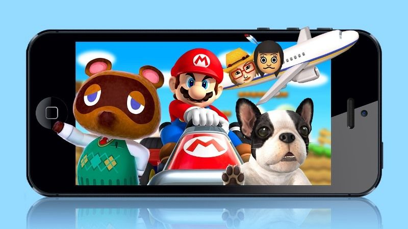 Nintendo Reduce Mobile Games Market