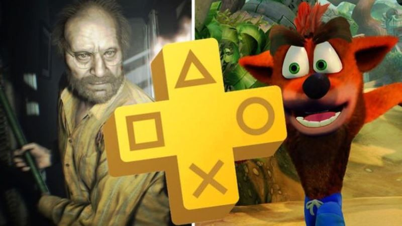PS Plus July 2020 Resident Evil 7, Crash Bandicoot