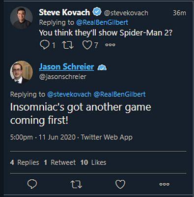 Spider-Man 2 Is Not Insomniac Games' Next Title