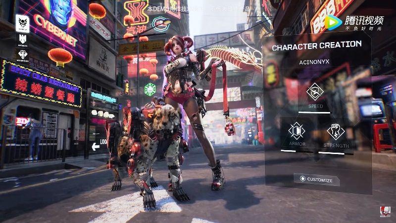 Syn Cyberpunk 2077 Style Game