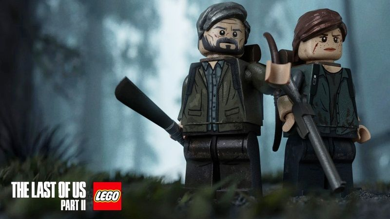 The Last of Us 2 Story Trailer LEGO