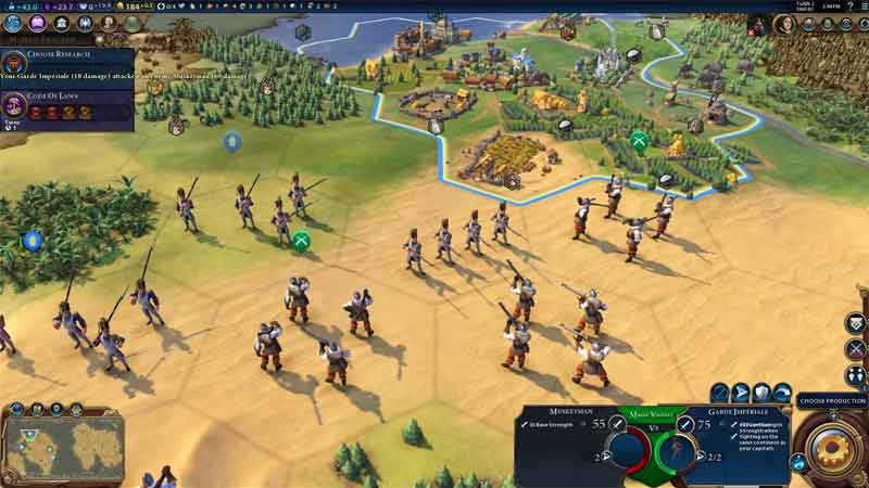 civilization 6 how to win early wars