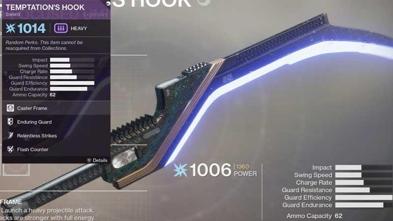 Destiny 2 Temptations Hook