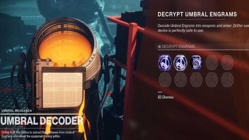 Destiny 2 Umbral Engrams Guide