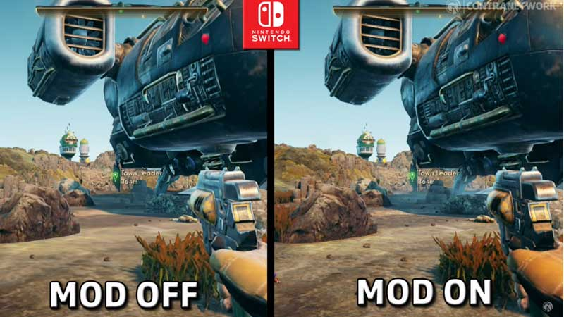 Switch Outer Worlds Graphic Mods