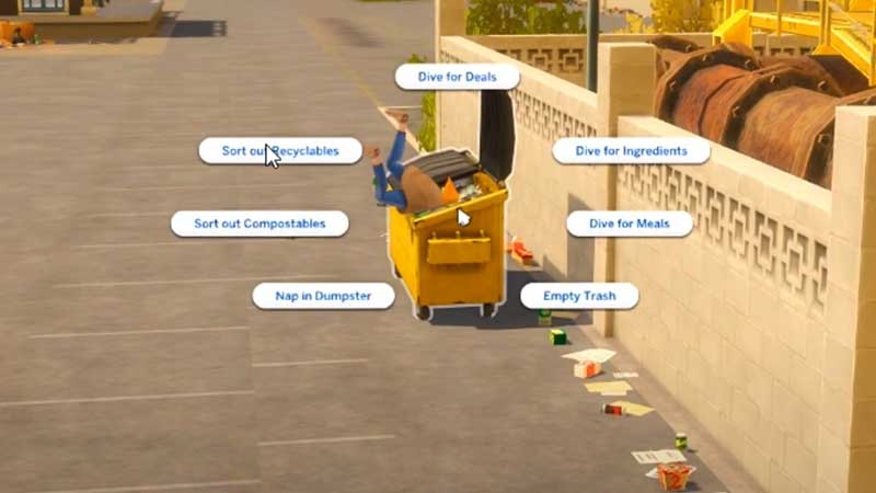 dumpster-diving-sims-4