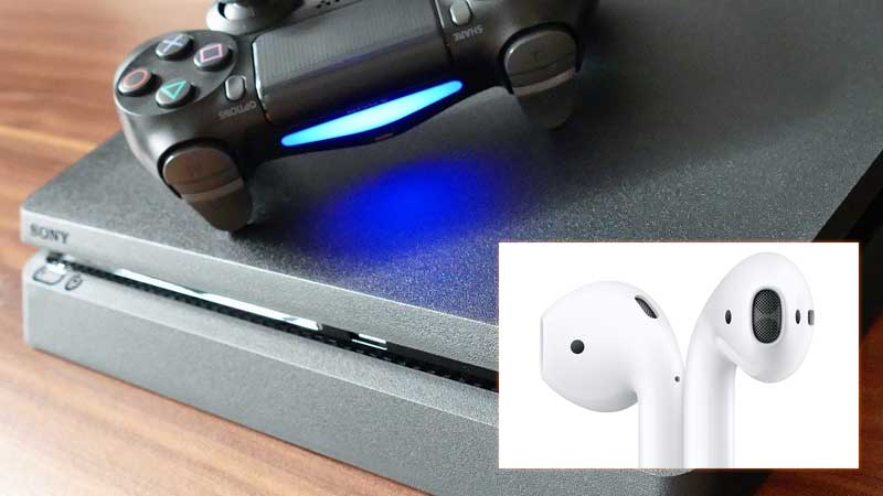 How to Connect Airpod to PS4 or PS4 Pro