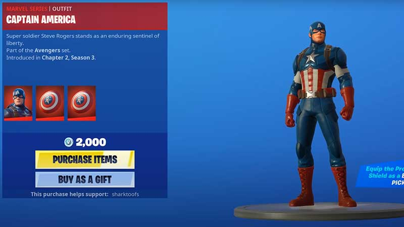 how-to-get-captain-america-skin-in-fortnite