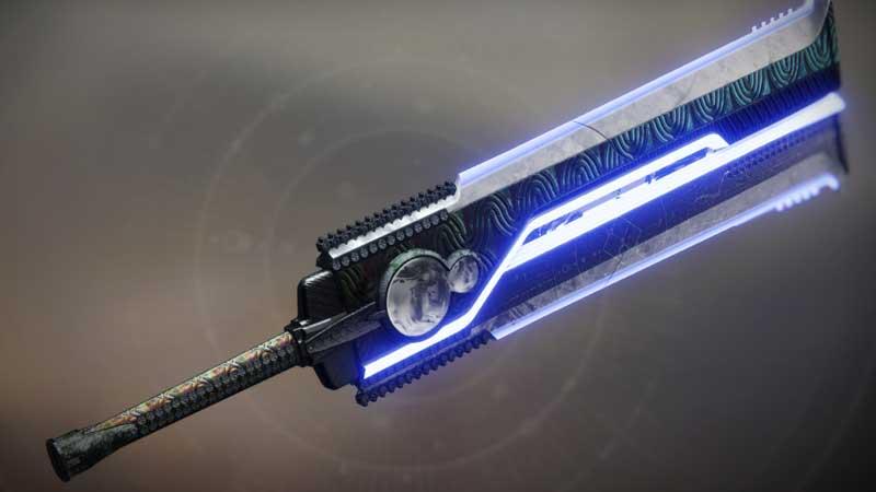Destiny 2 Guillotine Sword