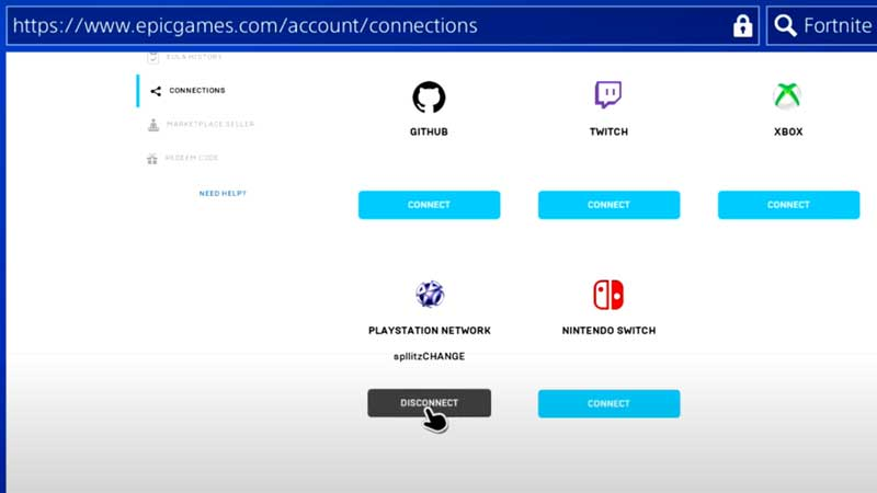 How to Logout Fortnite on PS4