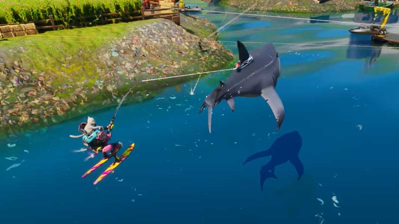 how-to-ride-a-shark-in-fortnite