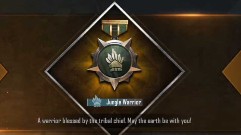jungle-warrior-title-pubg