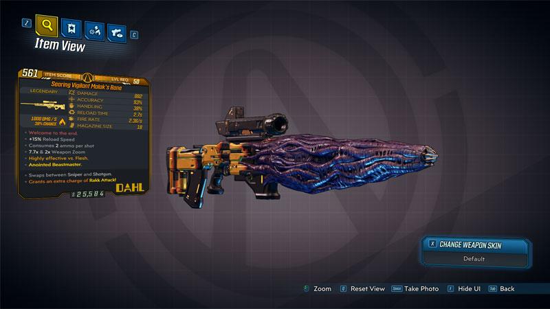 legendary weapons borderlands 3