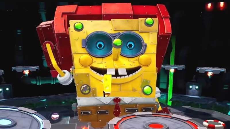 Robot SpongeBob & Plankton Boss Fight