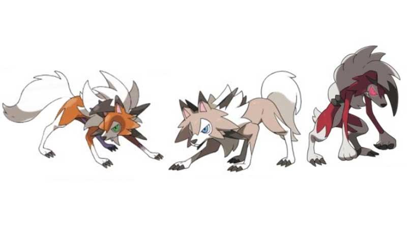 Pokemon Sword and Shield Rockruff Evolution Guide