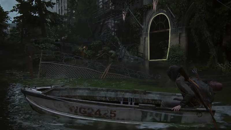 Last of Us Part 2 Boat