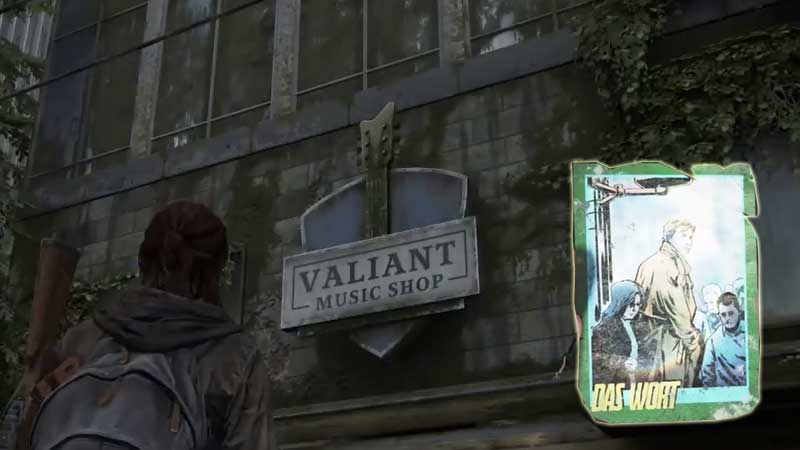 Last of Us Trading Card Location 10