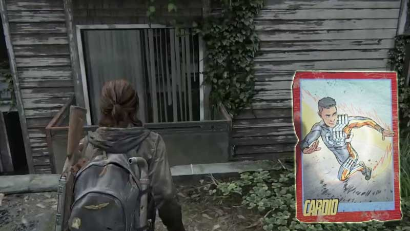 Last of Us Trading Card Location 14
